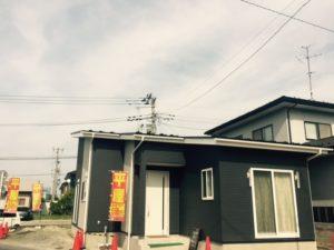 古川前田町平屋モデルハウス 全景1